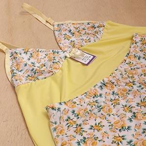 Amarelo Floral Branco