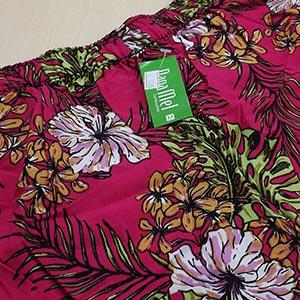 Estampa Floral Verde Lilás Fúcsia