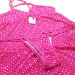 Pink / Poá Branco
