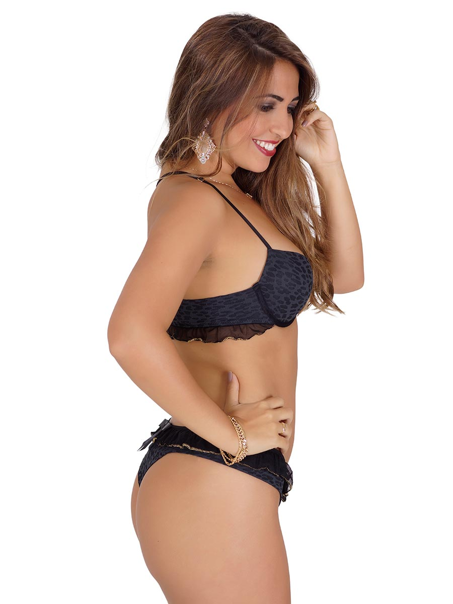 Conjunto Bella Babado Nadador