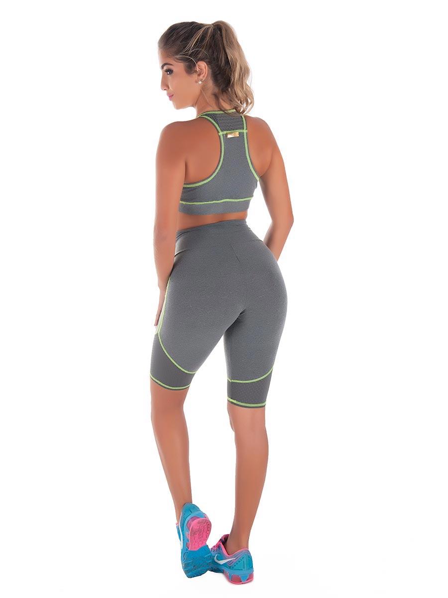 Bermuda Fitness em Suplex de Poliamida