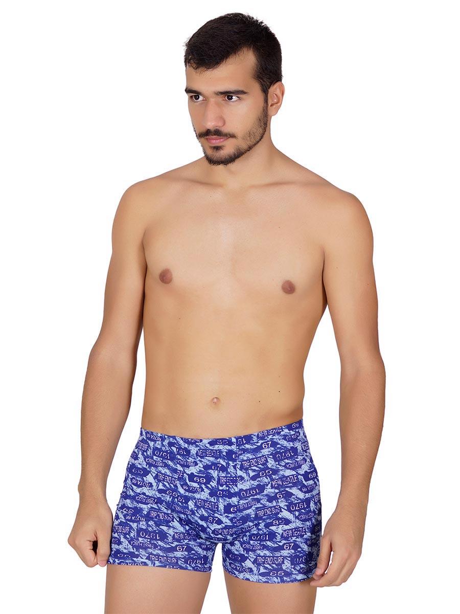 Cueca Boxer Embutida Estampada