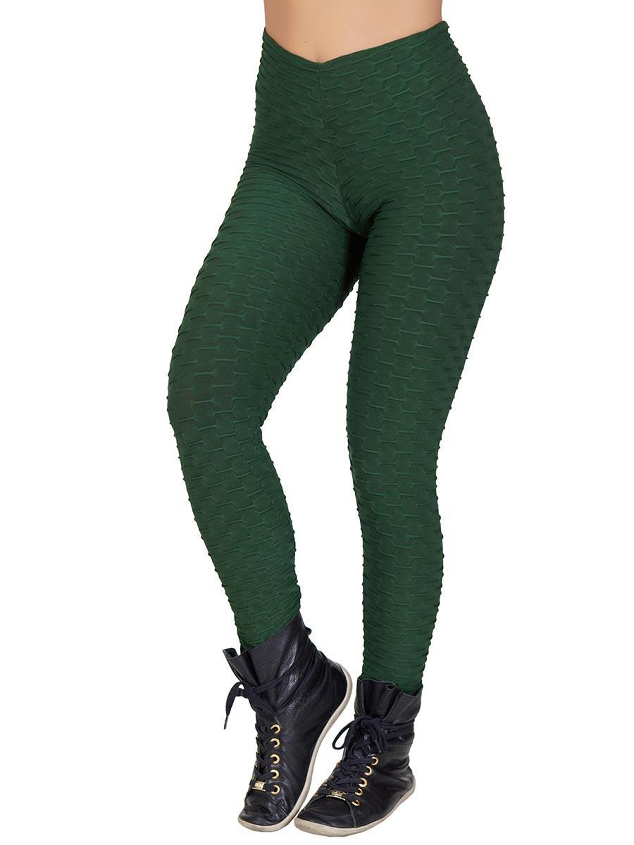Calça Luna Lisa Verde Musgo